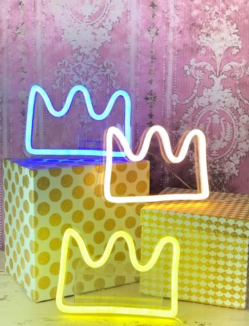 Small LED neon Crown