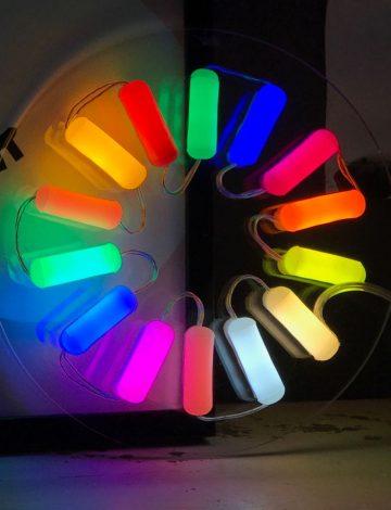 Rainbow Burst Neon