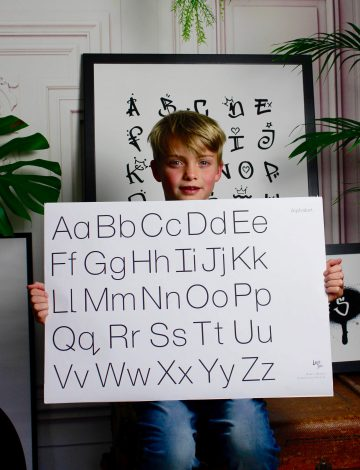 Educational Alphabet Print