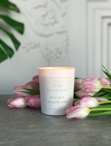 To my Favourite Mum, Hand Poured, Scented Candle