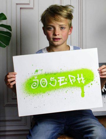 Personalised Graffiti Name Print