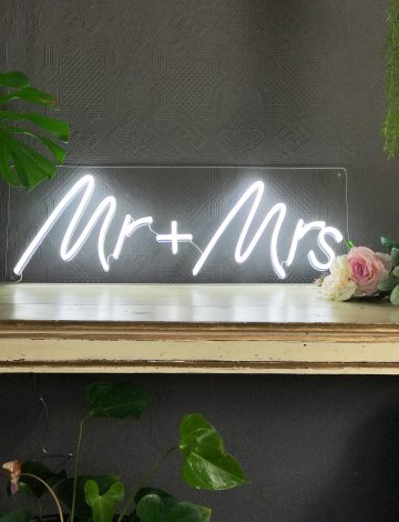 Mr & Mrs LED Neon Light