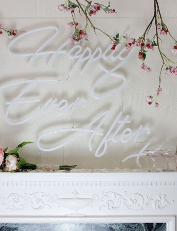Happily Ever After Sign-Seconds