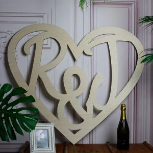 personalised-initial-wooden-heart