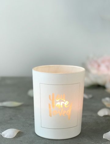 Scented Candle, You Are Loved