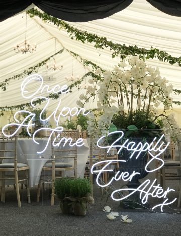 Once Upon a Time & Happily Ever After Neon