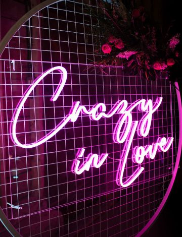 Crazy in Love LED Neon light