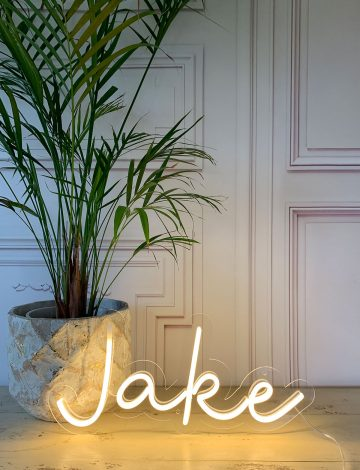 Jake Neon Sign – Slight Second