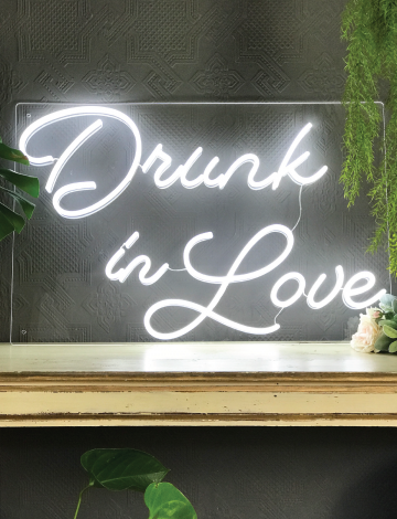 Drunk in Love LED Neon Sign