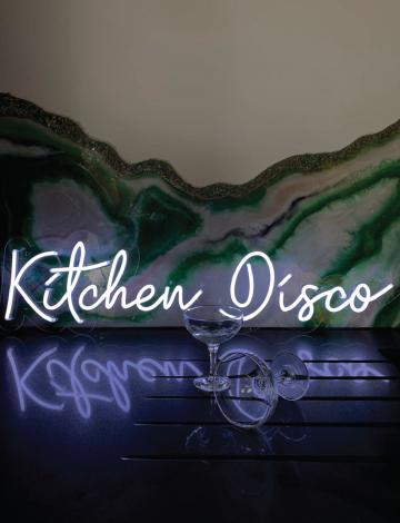 Mini Kitchen Disco LED Neon Sign